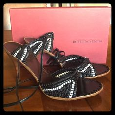 Bottega Veneta heels Never been worn. Make me an offer! :) no trades. Bottega Veneta Shoes Heels