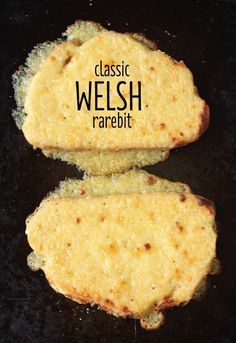 Classic Welsh rarebit - with a gooey, cheesy sauce made with beer! serve for breakfast with salami and egg topped Welsh Recipes, Uk Recipes, Scottish Recipes, Cooking Recipes, Scottish Dishes, English Recipes, British Recipes, Turkish Recipes, Vegetarian Recipes