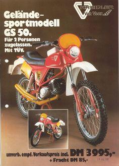 KVV - Kreidler Van Veen - Original-Prospekt GS50