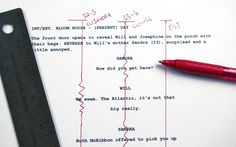 how to line a screenplay