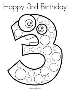 Happy 40 Birthday coloring page   birthday   Birthday ...
