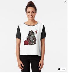 Chiffon Top Tee Shirts, Tees, Chiffon Tops, How To Wear, Stuff To Buy, Women, Fashion, Moda, T Shirts