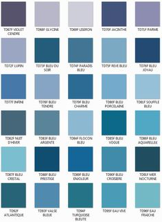 nuancier bleu violet color charts pinterest nuancier bleu bleu violet et tableaux de. Black Bedroom Furniture Sets. Home Design Ideas