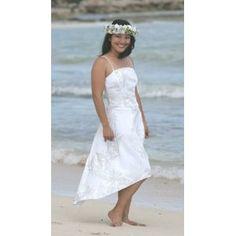 Princess Kinau Hawaiian Beach Wedding Dress (Apparel)  http://balanceddiet.me.uk/lushstuff.php?p=B0010EDHUA  B0010EDHUA