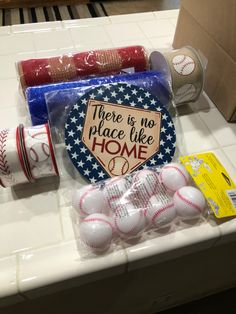 Everything you need except thr frame to create a yrulu unique one of a kind baseball wreath for you to sell or add to your homes decor. Includes sign, 2 rolls of metallic deco mesh, 3 tolls of 10 yard wired ribbon and a pack of plastic baseballs. Lace Ribbon, Wired Ribbon, Wreath Making Supplies, Craft Supplies, Baseball Wreaths, Wreath Tutorial, Metallic Blue, Home Signs, How To Make Wreaths