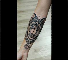 Native American Feel Wolf :)