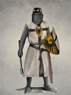 Teutonic Knight by JLazarusEB.deviantart.com on @DeviantArt