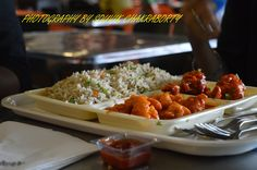 mixed fried rice,chilli chicken
