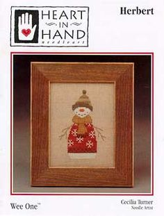 Herbert (wee one) - Cross Stitch Pattern by Heart in Hand