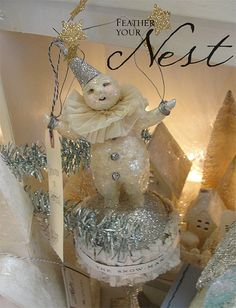 Holiday Snowman | Flickr - Photo Sharing!  by Feather Your Nest