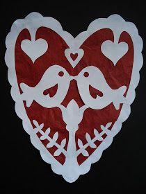 a faithful attempt: Valentine Wycinanki