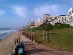 Bronze Beach, Umhlanga Lifeguard, Mobile Home, South Africa, Beautiful Places, Landscapes, Rocks, Tower, Street View, African