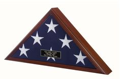 Best Seller -Flag Display Case American Made   Flag Display Cases, Burial Flag Frames, Flag Medal