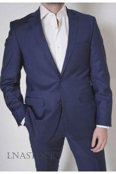 Costume pure laine Scarletti slim fit bleu
