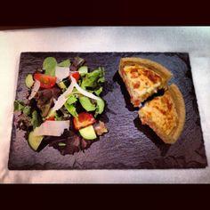 Set of 6 slate serving plates by NotreReve on Etsy, £16.00