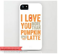 12 Important Kinds of Pumpkin Spice Latte Swag Found on Etsy