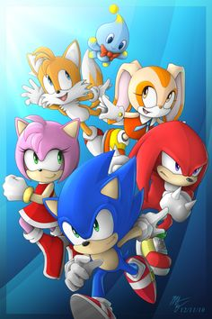 Sonic and Friends by VegaColors.deviantart.com on @deviantART