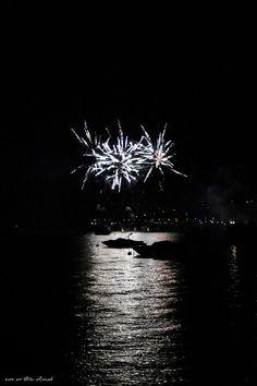 Eva on the cloud: Porto in festa illuminato dalla magia dei fuochi artificiali