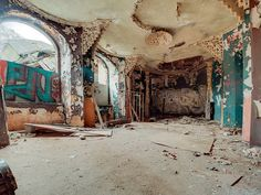 Abandoned Berlin: explore the forgotten corners of Germany's capital city in a compelling series of ruins photographs covering 10 historic derelict places.