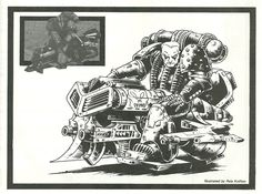 Interior illo from White Dwarf December Pete Knifton, via GrimmDark Dec 11 20 Nottingham Trent University, Personal Fan, Rogue Traders, Best Mate, Angel Of Death, The Grim, Art Studies, Warhammer 40k, Rogues