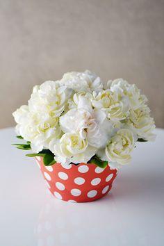 DIY Floral Cupcakes