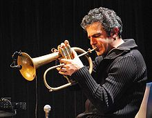Paolo Fresu Ibk.JPG  aolo Fresu: award winner, internationally acclaimed Sardinian trumpet player has performed around the world over the past 30 years, with a track record of 300 recordings.