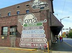 Von's Stores. West Lafayette, Indiana. Most amazing small town store(s). Ever. Food for the Body, Mind and Spirit with Gloria Piantek Sundays from West Lafayette, Indiana http://Food.CreatingCalmNetwork.com
