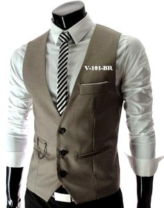 Plus Size Mens Vests Suit Sleeveless Male Waistcoat For Vest Waistcoat Wedding Dresses Wedding Classic Colete Masculino Trendy Suits, Slim Fit Jackets, Suit Vest, Dress Vest, Jacket Men, Well Dressed Men, Business Fashion, Swagg, Mens Suits