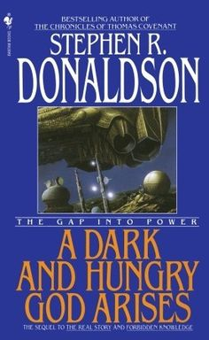 "Read ""A Dark and Hungry God Arises"" by Stephen R. Donaldson available from Rakuten Kobo. A master storyteller, Stephen R. Donaldson established a worldwide reputation with his unforgettable, critically acclaim. Post Apocalyptic Fiction, Fantasy Series, Series 3, Fantasy Books, Science Fiction Series, Classic Sci Fi, Sci Fi Books, Book Nooks, Used Books"