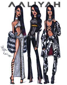 #Aaliyah x3 by Hayden Williams #HappyBirthdayAaliyah