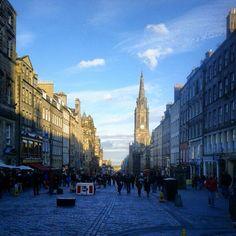 The Royal Mile in Edinburgh, Edinburgh