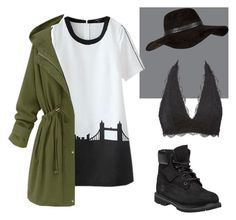 """""""Street Style."""" by sydddneysmith on Polyvore featuring Charlotte Russe, River Island and Timberland"""
