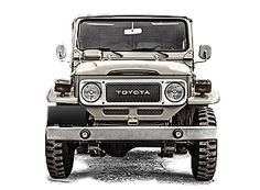 Toyota Land Cruiser FJ40 1982 Medium Blue