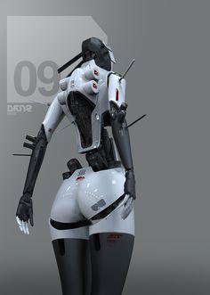 """ArtStation - """"Pleasure Model"""" for NOISIA and Former Musicvideo - HER stage 1, DAYTONER / Daniel Hahn"""