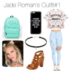 """""""J. Roman"""" by arianagrande1962 on Polyvore featuring Momewear, Bamboo, Vans and Casetify"""