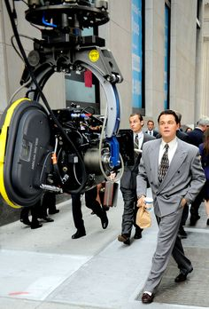 'Wolf of Wall Street' on location. Scorsese is reuniting with frequent collaborator Leonardo DiCaprio for the crime thriller. Martin Scorsese, Leonardo Dicaprio, My Future Job, Wolf Of Wall Street, Hollywood, Ryan Gosling, Film Aesthetic, Scene Photo, Film Director