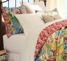 Our bedroom: Island Patchwork Quilt & Sham Dream Bedroom, Home Bedroom, Bedroom Decor, Bedrooms, Girls Bedroom, Bedroom Ideas, Master Bedroom, Modern Outdoor Furniture, Home Furniture
