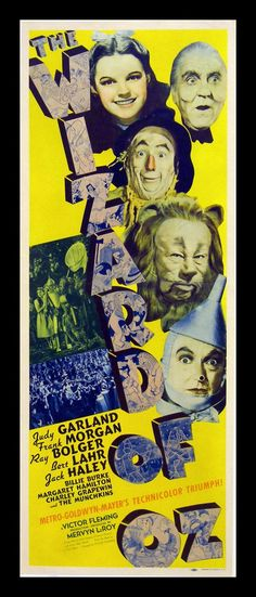 THE WIZARD of OZ, 1939~~ All  my children loved this movie!!