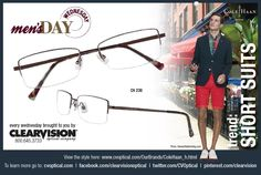 Men, time to break out your suit and tie – and shorts...and specs!