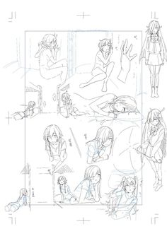 Body Reference Drawing, Art Reference Poses, Manga Drawing Tutorials, Art Tutorials, Drawing Poses, Drawing Sketches, Comic Book Layout, Concept Art Tutorial, Poses References
