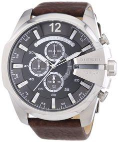 Sale Preis: Diesel Herren-Armbanduhr XL Chronograph Quarz Leder DZ4290. Gutscheine & Coole Geschenke für Frauen, Männer und Freunde. Kaufen bei http://coolegeschenkideen.de/diesel-herren-armbanduhr-xl-chronograph-quarz-leder-dz4290