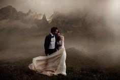 Couple wedding alpes
