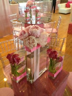 Pink Theme Inspiration for Your Wedding, Bat Mitzvah, Baby Celebration Pink Calla Lilies and Peonies from Josh & Co - mazelmoments.com – mazelmoments