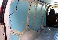 GMC Savana DIY Van Conversion: Update 5 (Insulation, walls, flooring) Diy Van Conversions, Camper Conversion, Van People, Chevy Express, Camper Van, Van Life, Motorhome, Insulation, Home Projects