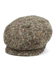 316510a86eb14 Stetson Hatteras Goat Suede Brown Newsboy Cap 6847401 68 ❤ liked on  Polyvore featuring accessories