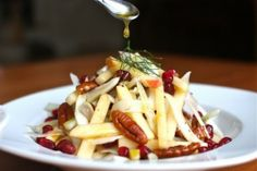 Apple-Fennel Salad with Pecans and Pomegranate