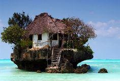 "Restaurant ""The Rock""   Zanzibar - Tanzania"