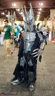 Sauron - Lord of the Rings Costume - Halloween Costume Contest via @costume_works