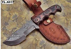 "DAMASCUS CUSTOM HAND MADE BEAUTIFUL TRACKER KNIFE(10.0""). #BestSteelWarrior"