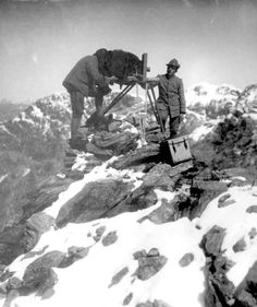 WWI - Italian  war photographer